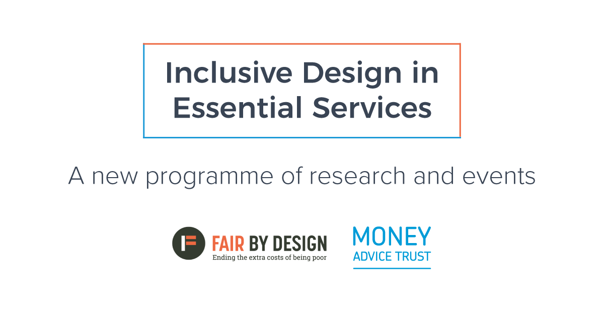 Inclusive Design in Essential Services