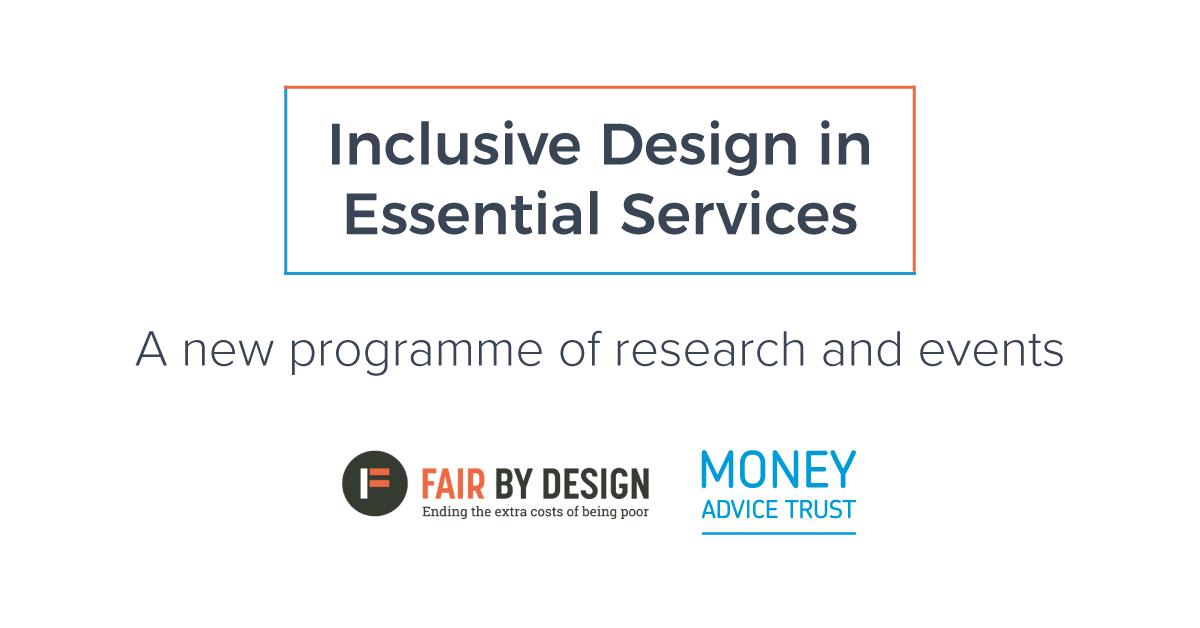 Inclusive Design in Essential Services